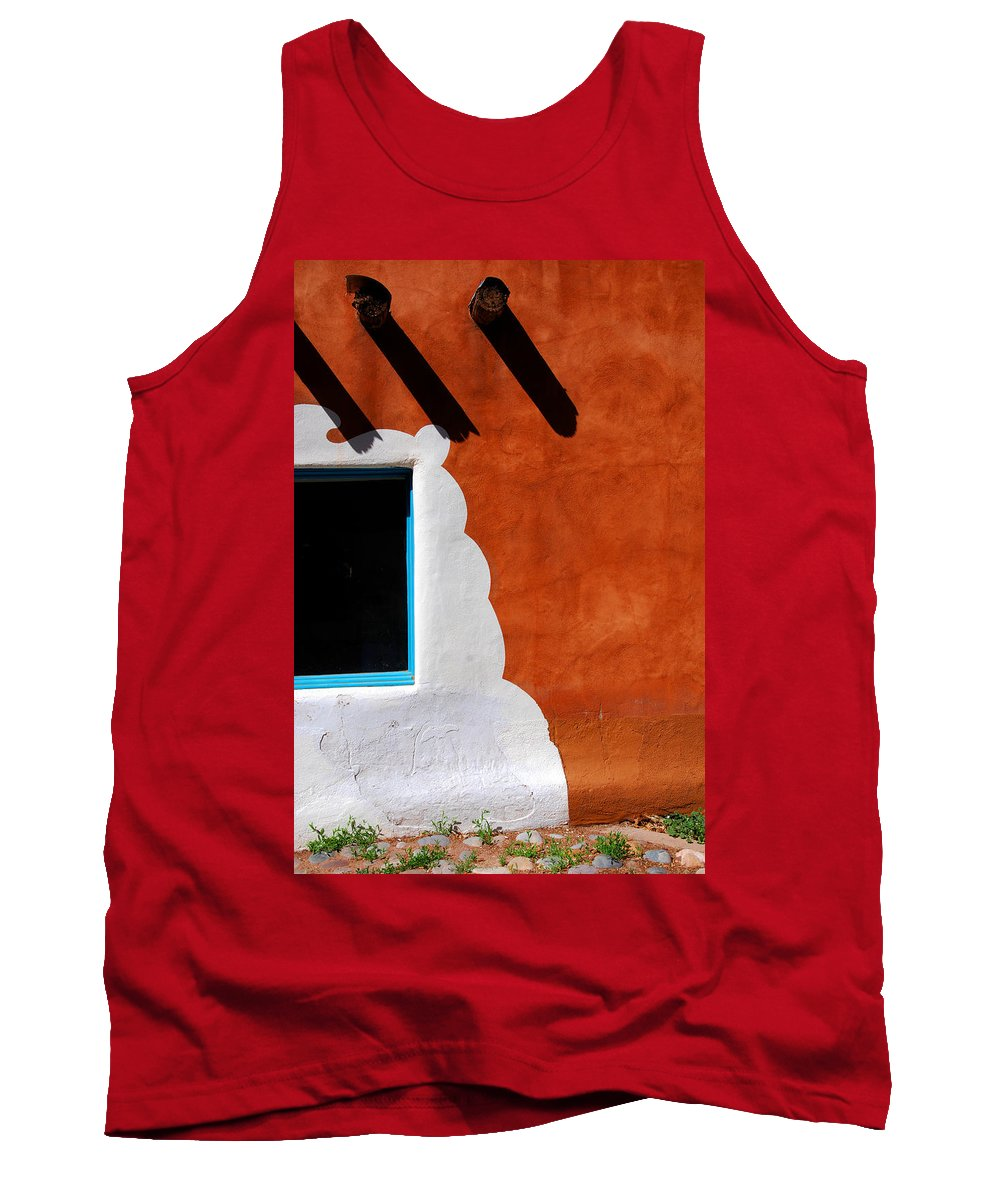 Photography Tank Top featuring the photograph The Magic Of Santa Fe by Susanne Van Hulst
