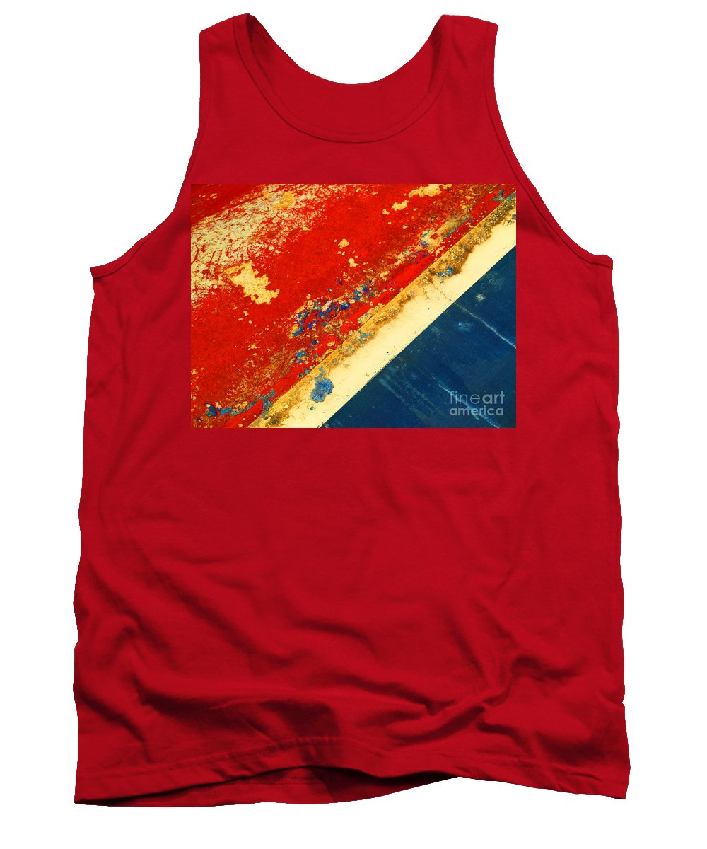 Boat Tank Top featuring the photograph The Old Boat 2 by Tara Turner