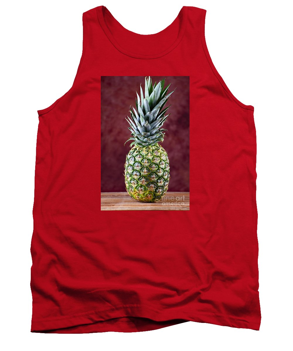 The Pineapple Tank Top featuring the photograph The Pineapple by Ray Shrewsberry