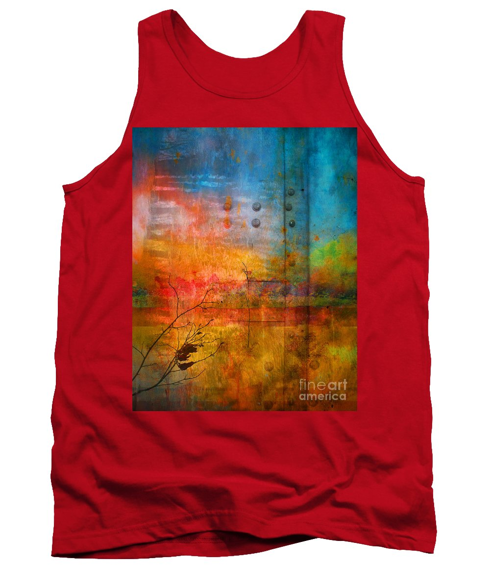 Colour Tank Top featuring the photograph The Places I Have Never Been by Tara Turner