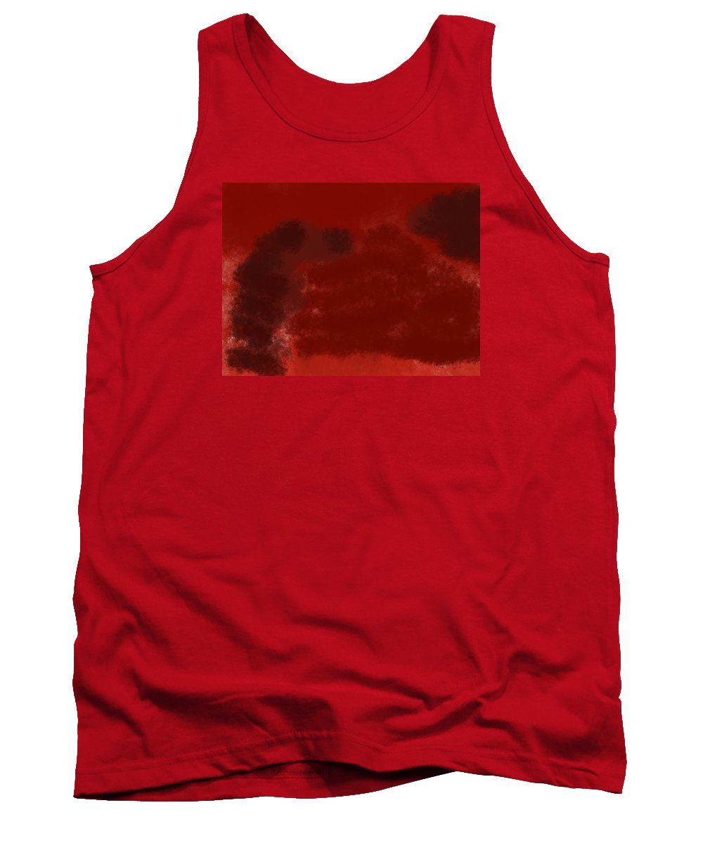 A Wounded Hand Tank Top featuring the painting The Wounded Hand by Willard Wallace