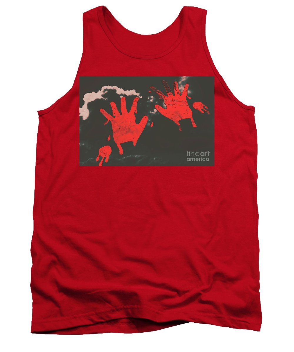 Murder Tank Top featuring the photograph Trace Of A Serial Killer by Jorgo Photography - Wall Art Gallery