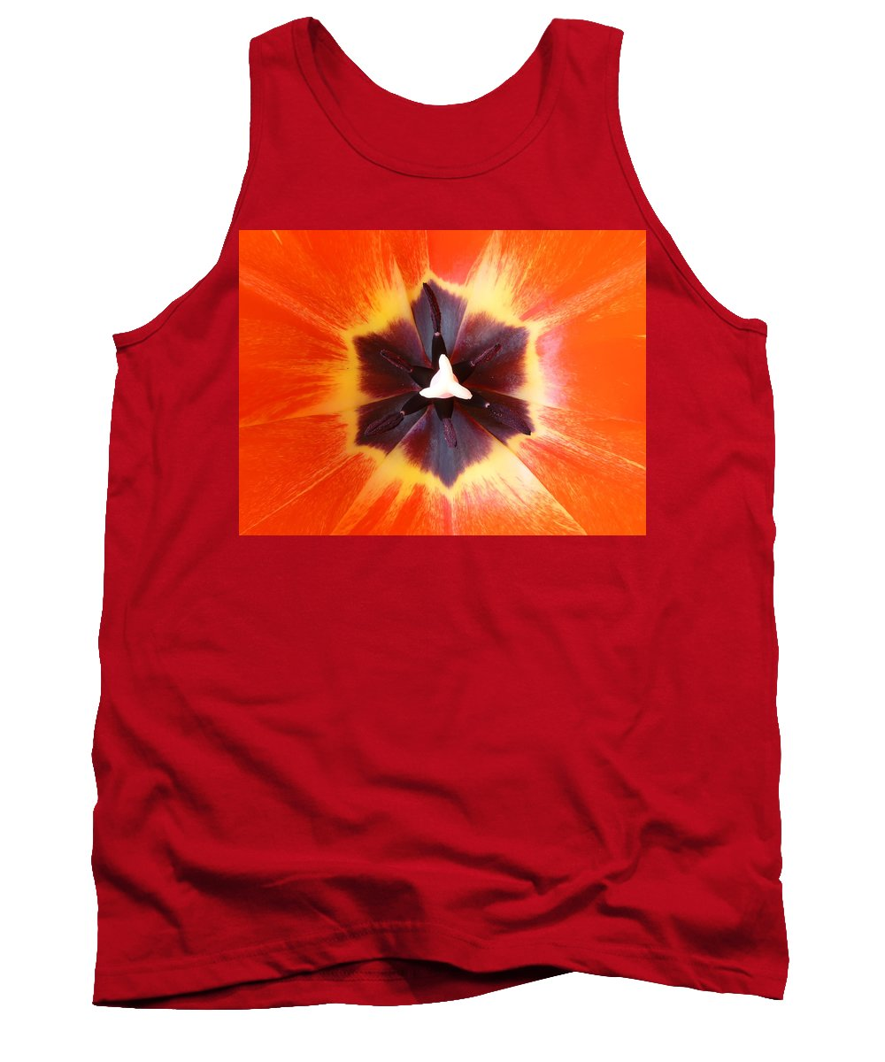 Tulip Tank Top featuring the photograph Tulip by Daniel Csoka