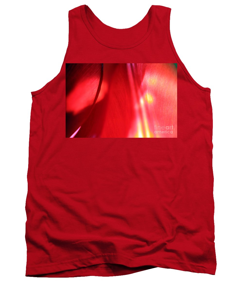 Tulips Tank Top featuring the photograph Tulip Mind by Amanda Barcon