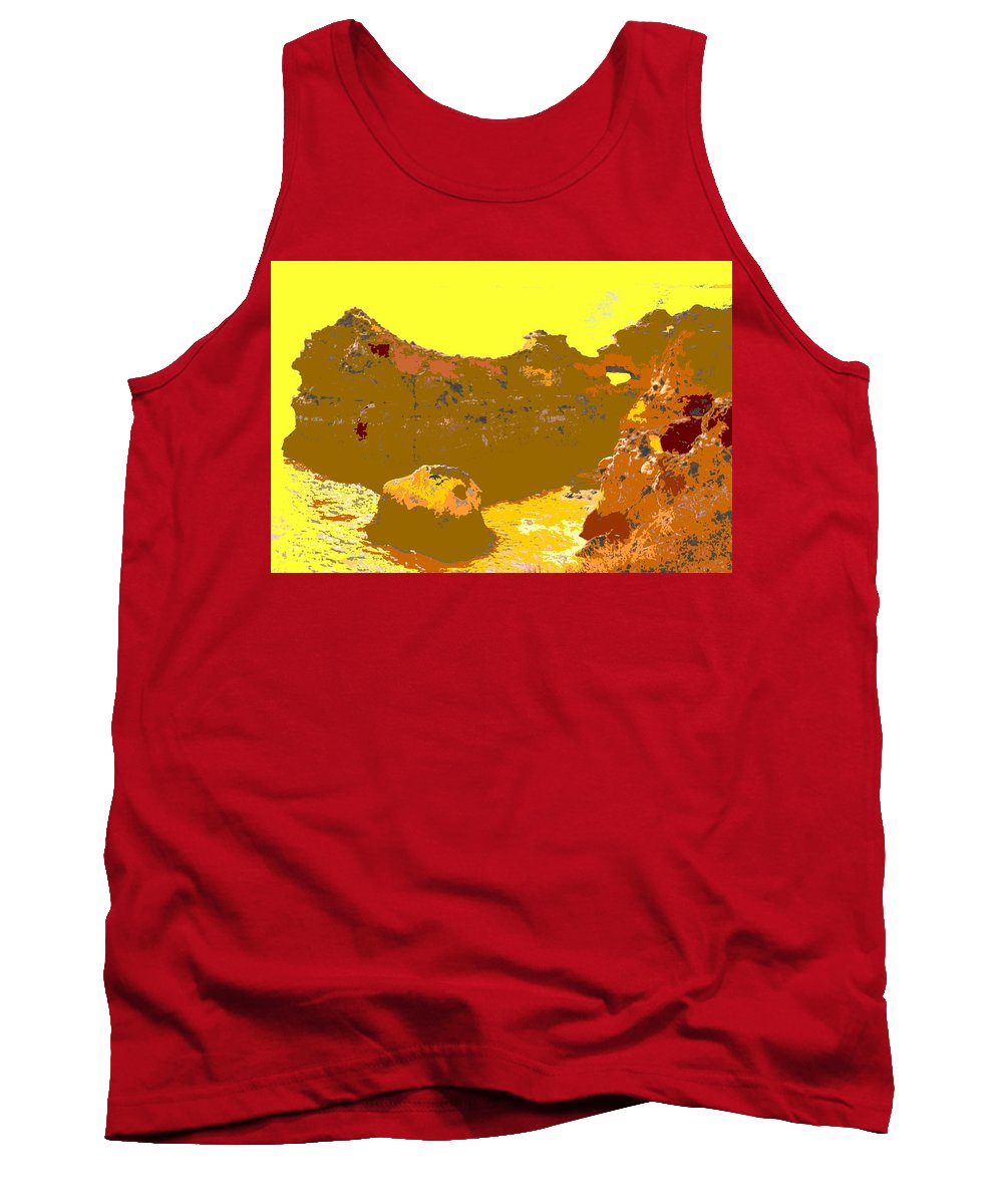 Mediterranean Tank Top featuring the photograph Under A Portugese Sun by Ian MacDonald