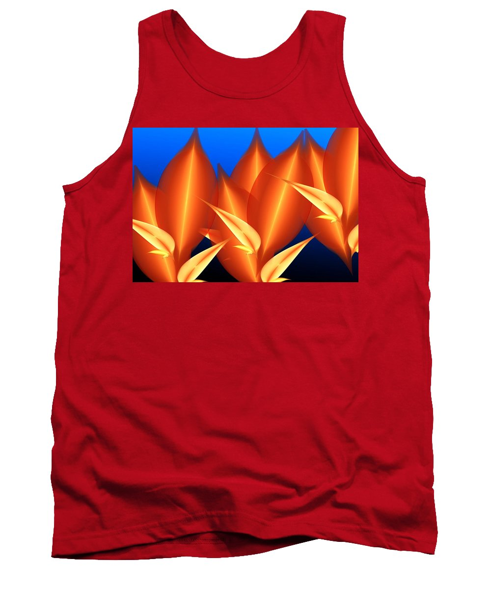 Digital Painting Tank Top featuring the digital art Untitled 01-15-10-c by David Lane