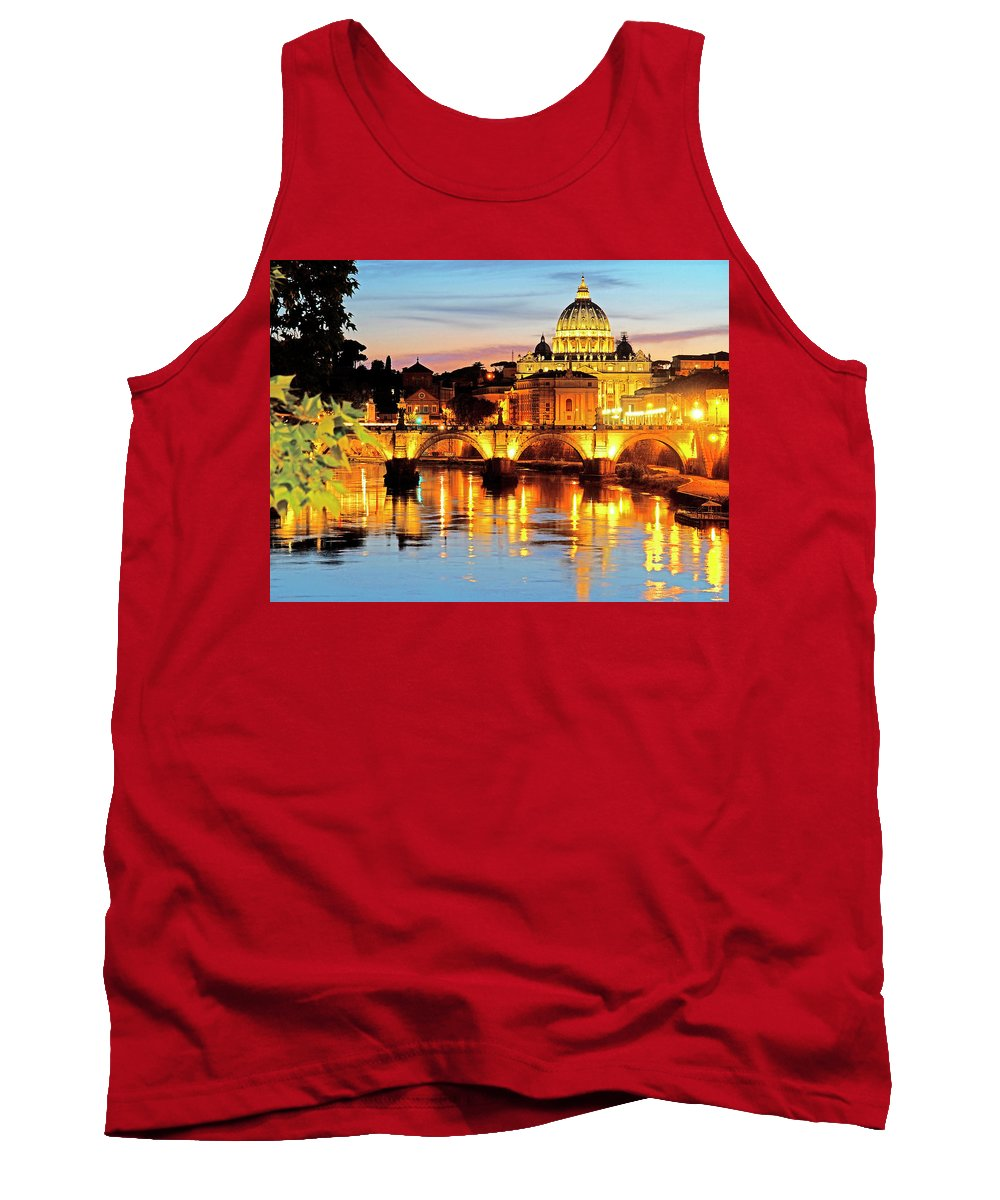 Italy Tank Top featuring the photograph Vatican's St. Peter's by Dennis Cox