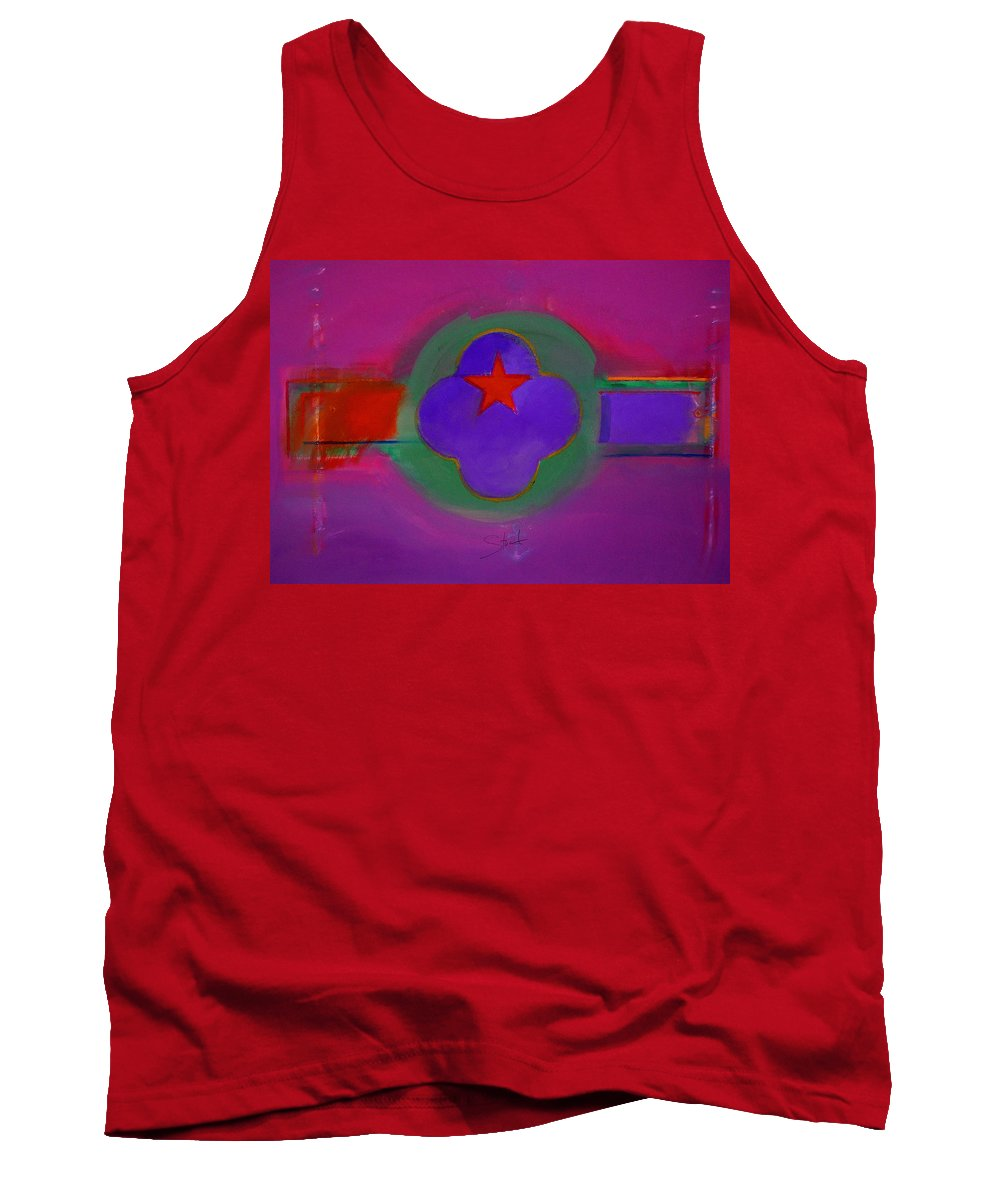 Star Tank Top featuring the painting Venice Spiritual by Charles Stuart