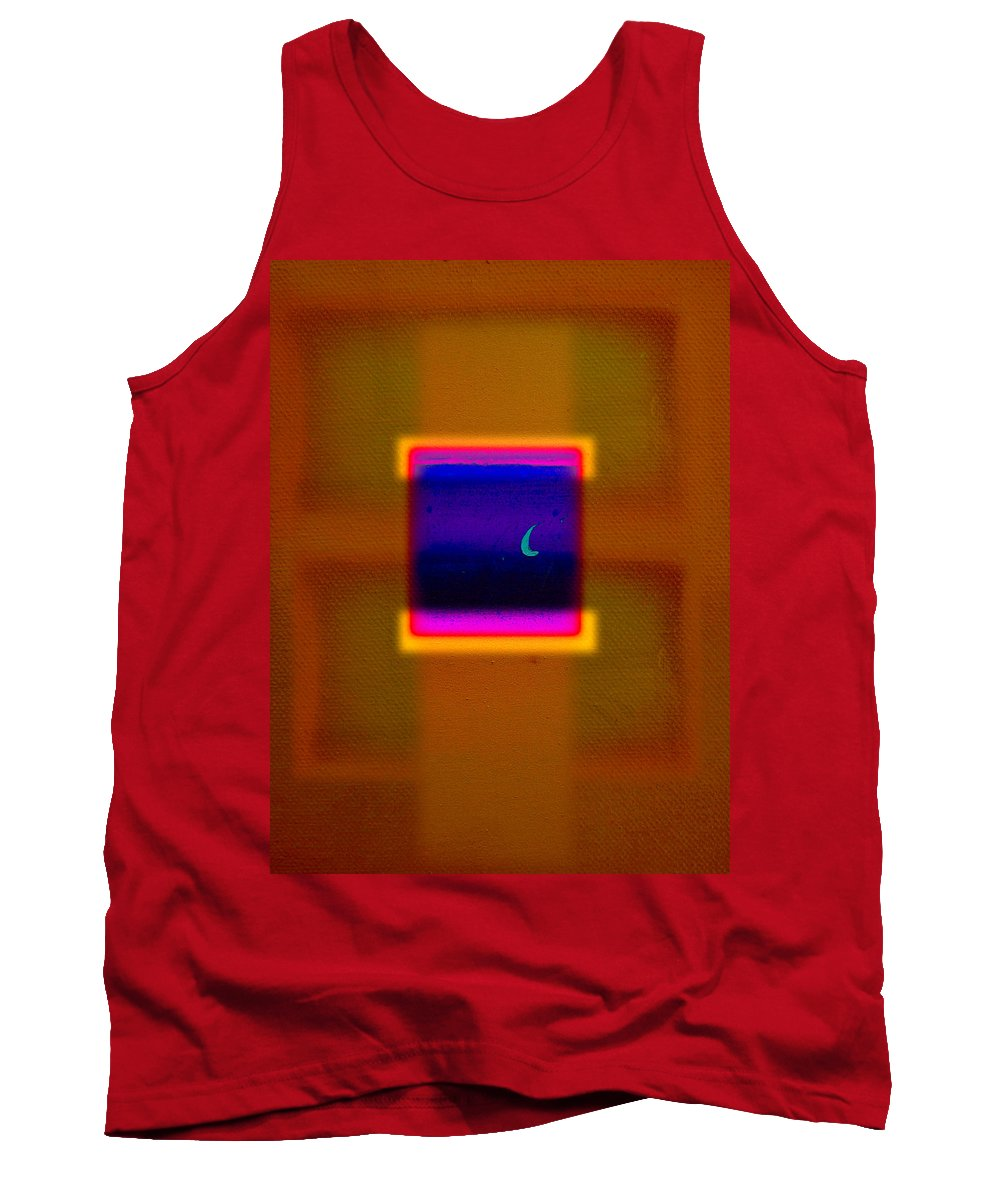 Rothko Tank Top featuring the painting View by Charles Stuart