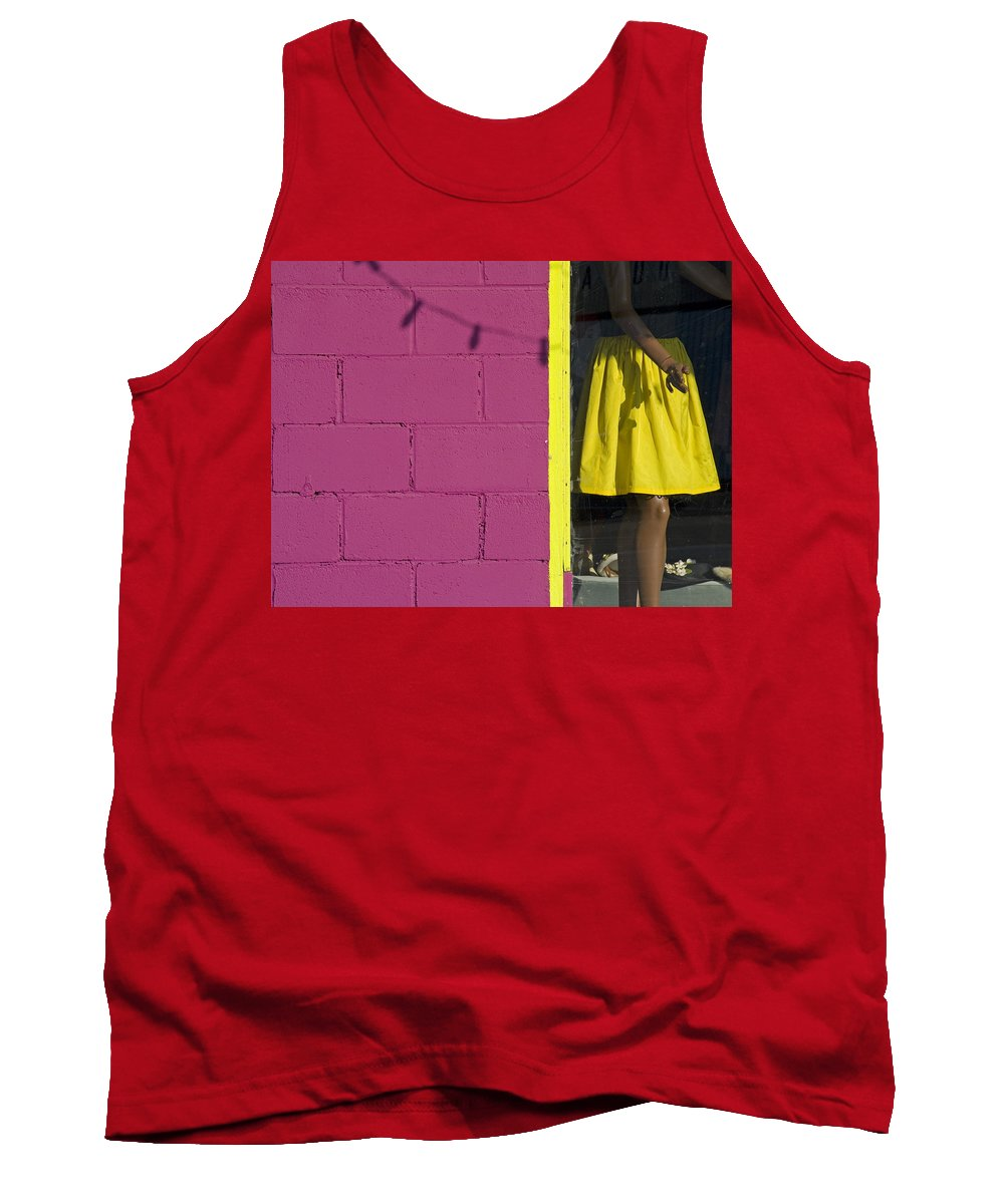 Woman Tank Top featuring the photograph Waiting by Skip Hunt