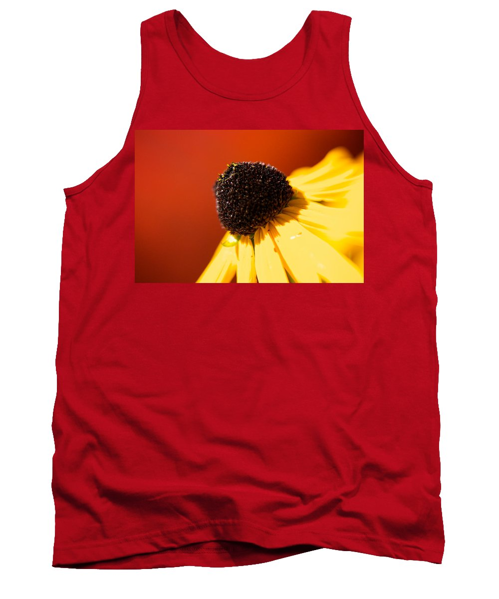 Red Tank Top featuring the photograph Warmth by Lisa Knechtel