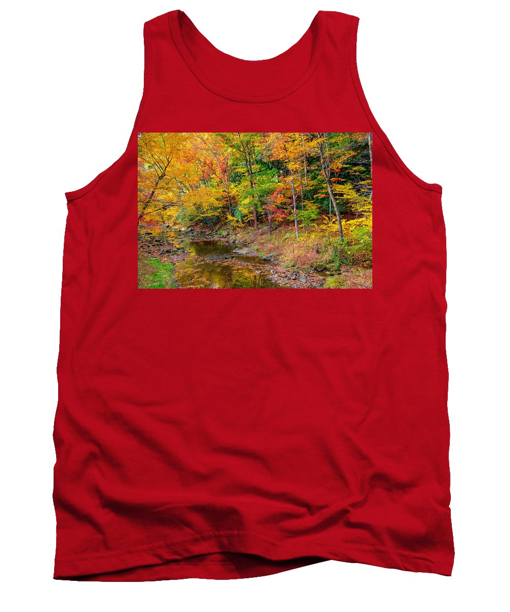 Tree Tank Top featuring the photograph West Virginia Paradise by John M Bailey