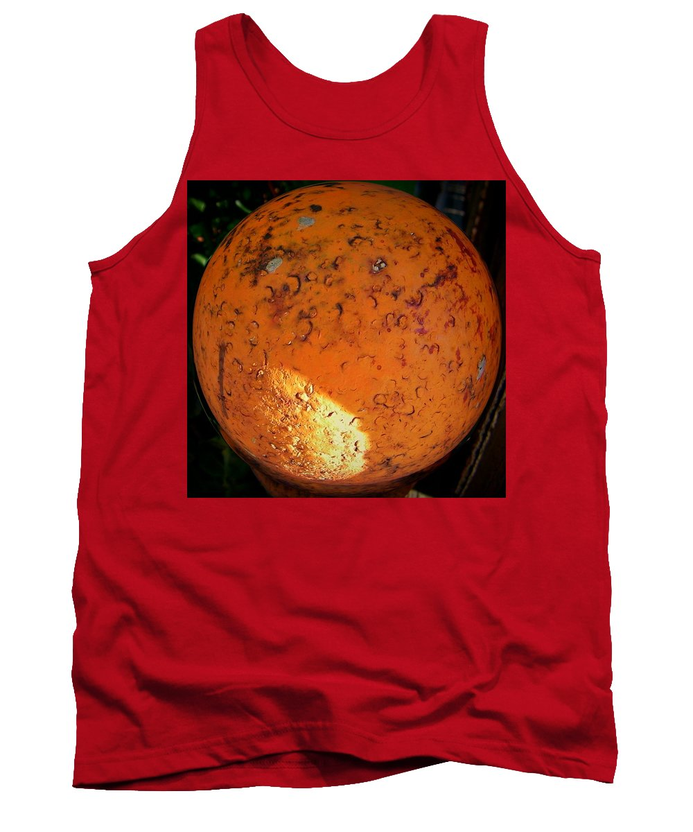 Abstract Tank Top featuring the photograph What Have We Done by Lenore Senior