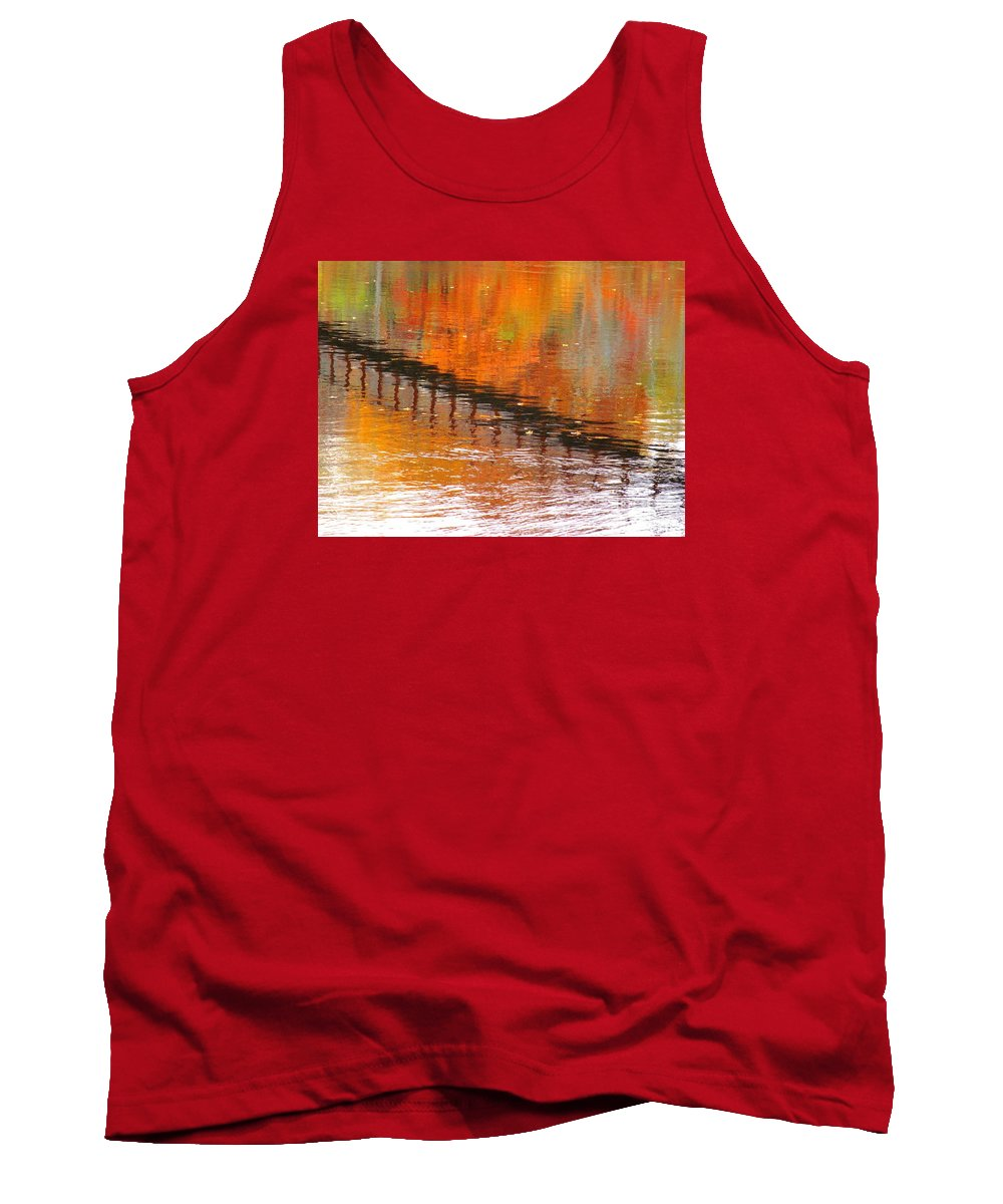 Abstract Tank Top featuring the photograph Without Mercy by Sybil Staples