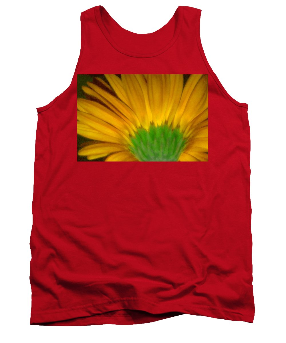 Tank Top featuring the photograph Yellow by Andre Giovina