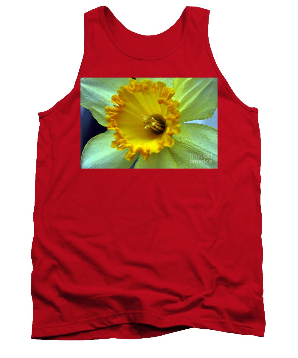 Clay Tank Top featuring the photograph Yellow Floral by Clayton Bruster