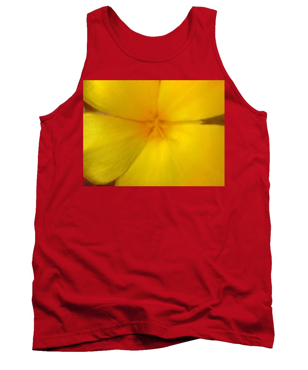 Yellow Flower Tank Top featuring the photograph Yellow Flower Photograph by Brenda Plyer