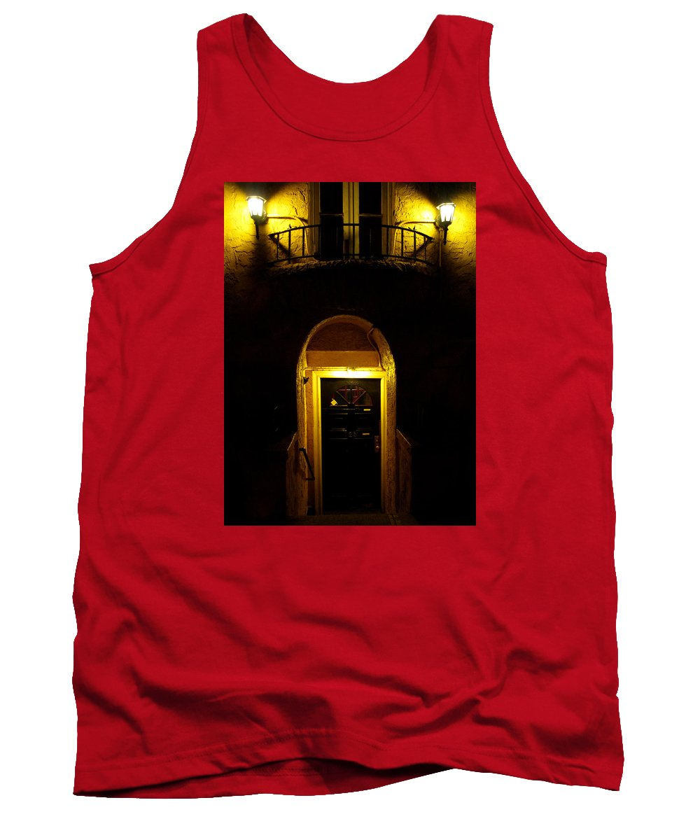 New York City Tank Top featuring the photograph Yellow Light by Dorothy Lee