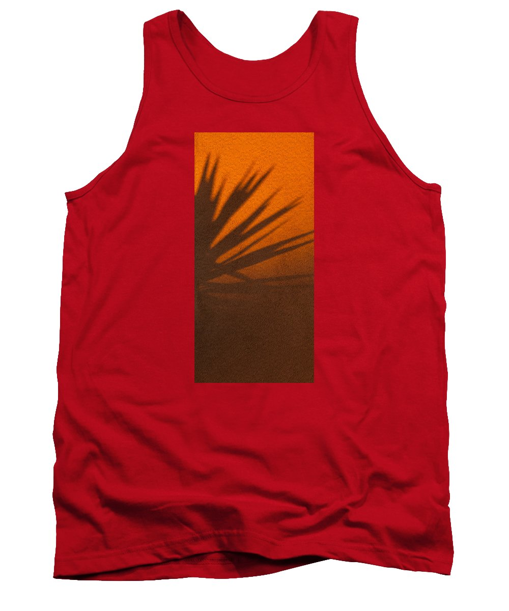 Arizona Tank Top featuring the photograph Yucca Shadow by Dennis Eckel