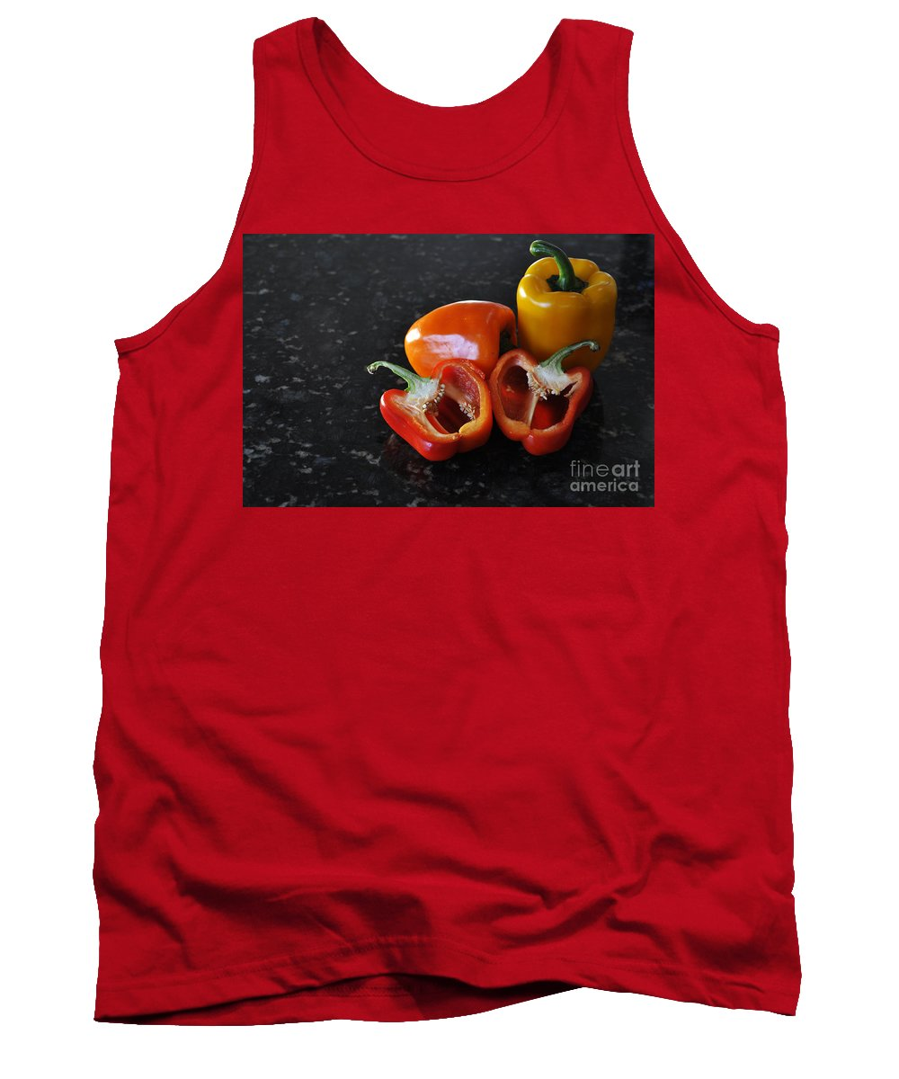 Orange Tank Top featuring the photograph Yummy by Crystal J Harwood