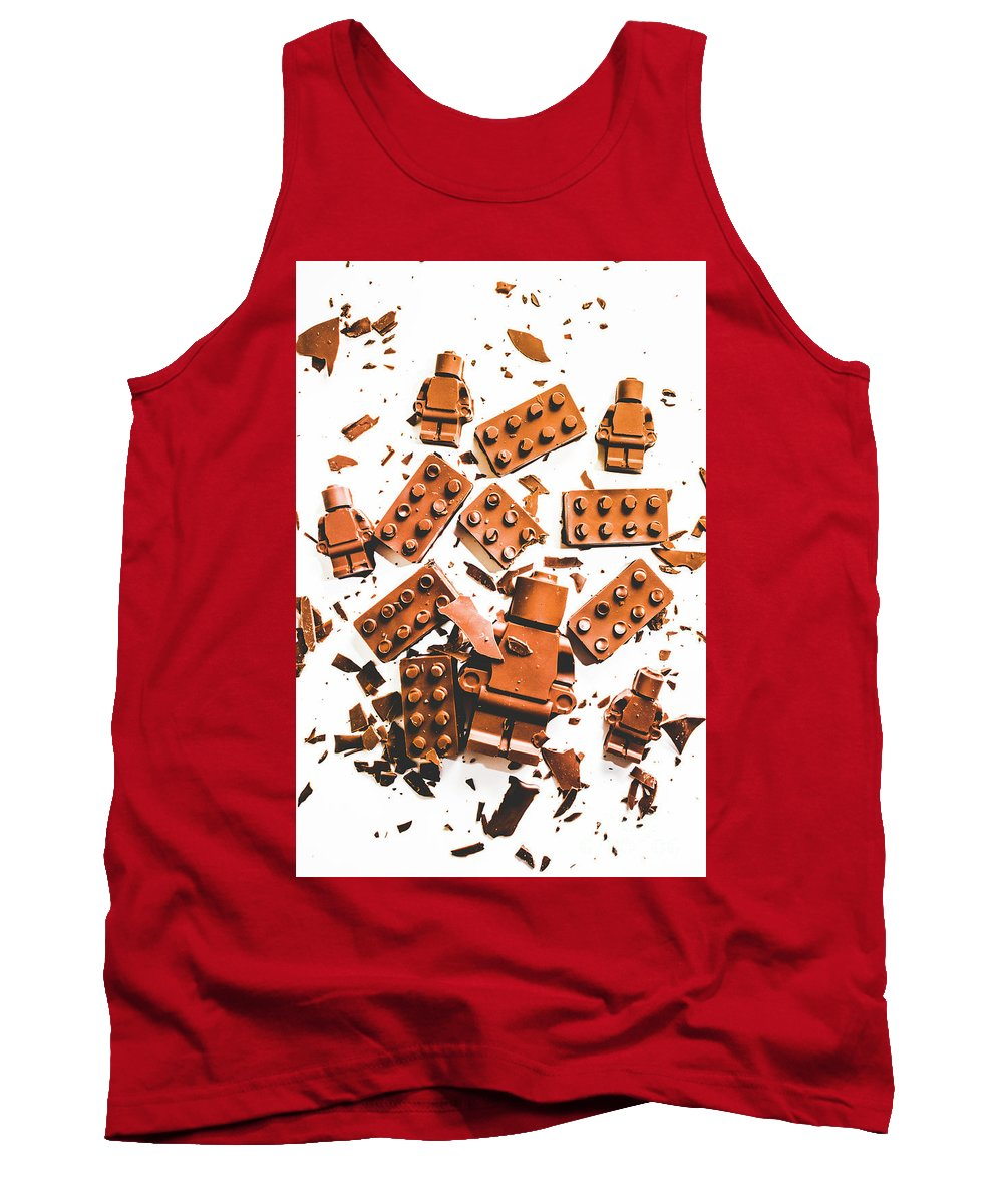 Art Tank Top featuring the photograph Sweat Defeat by Jorgo Photography - Wall Art Gallery
