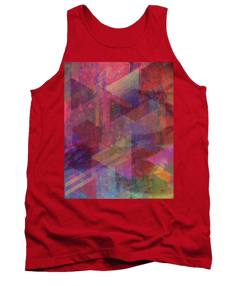 Another Place Tank Top featuring the digital art Another Place by John Robert Beck