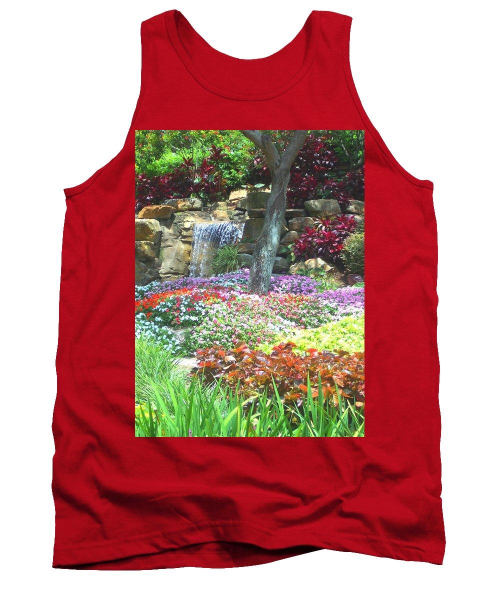 Garden Tank Top featuring the photograph Floral Garden by Pharris Art