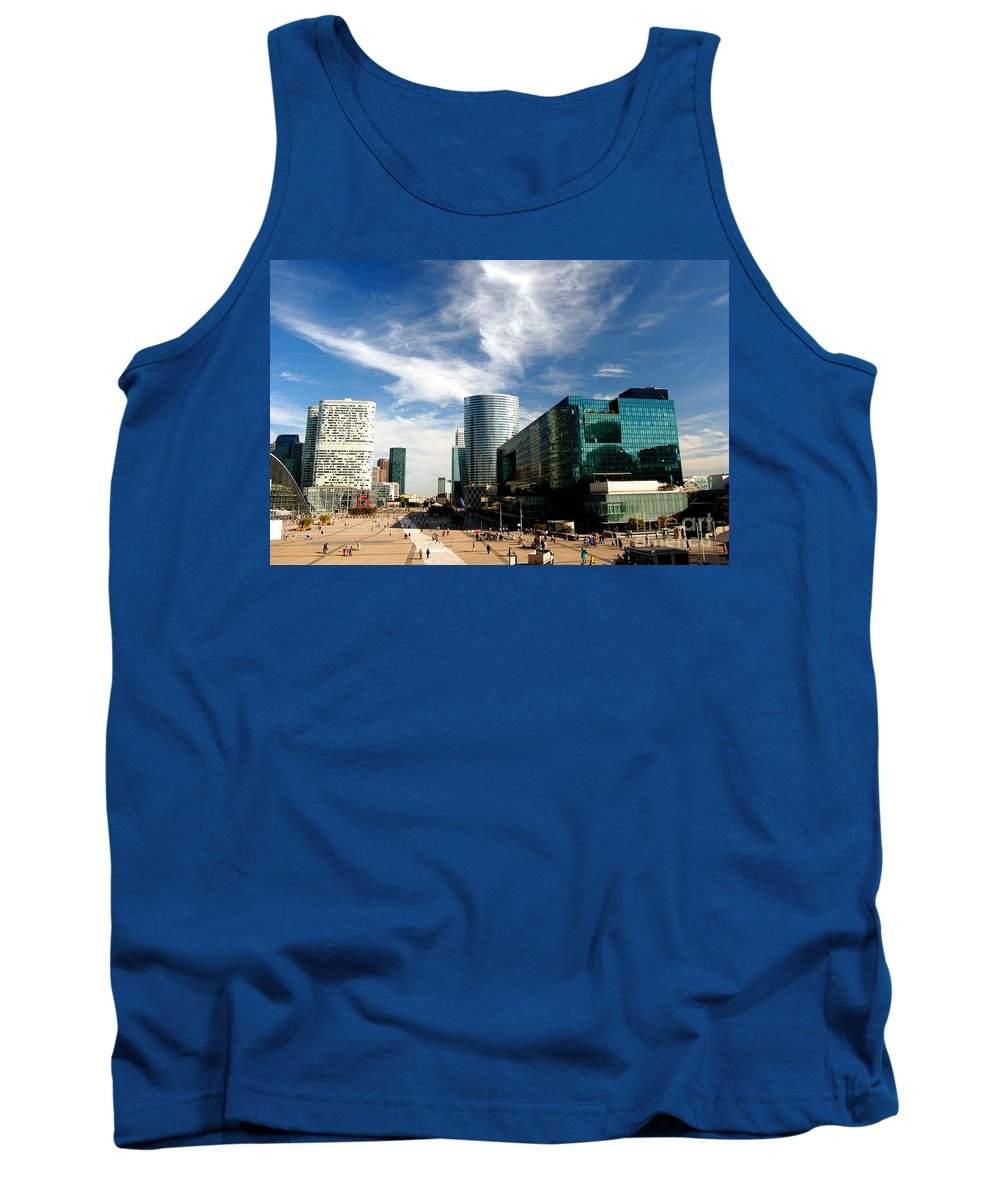 Architecture Tank Top featuring the photograph Business Architecture by Michal Bednarek