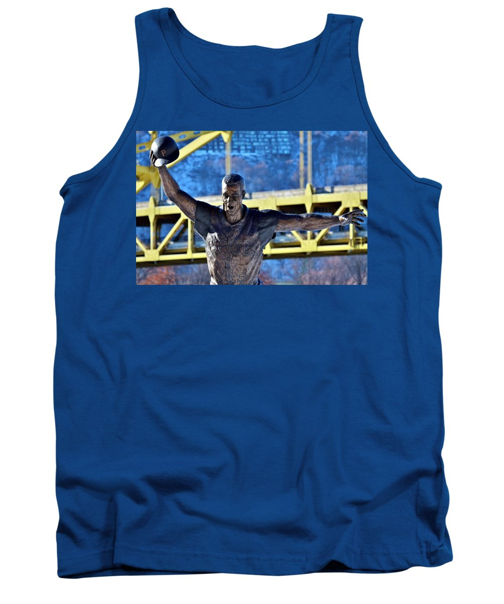 Bill Mazeroski Tank Top featuring the photograph Maz by Christopher Miles Carter