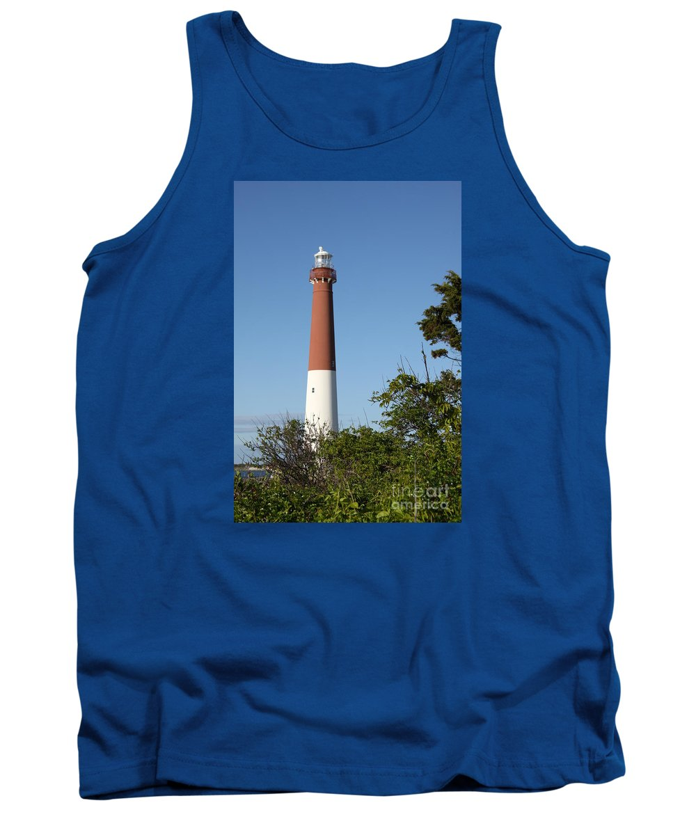 Lighthouse Tank Top featuring the photograph Barnegat Lighthouse by Christiane Schulze Art And Photography