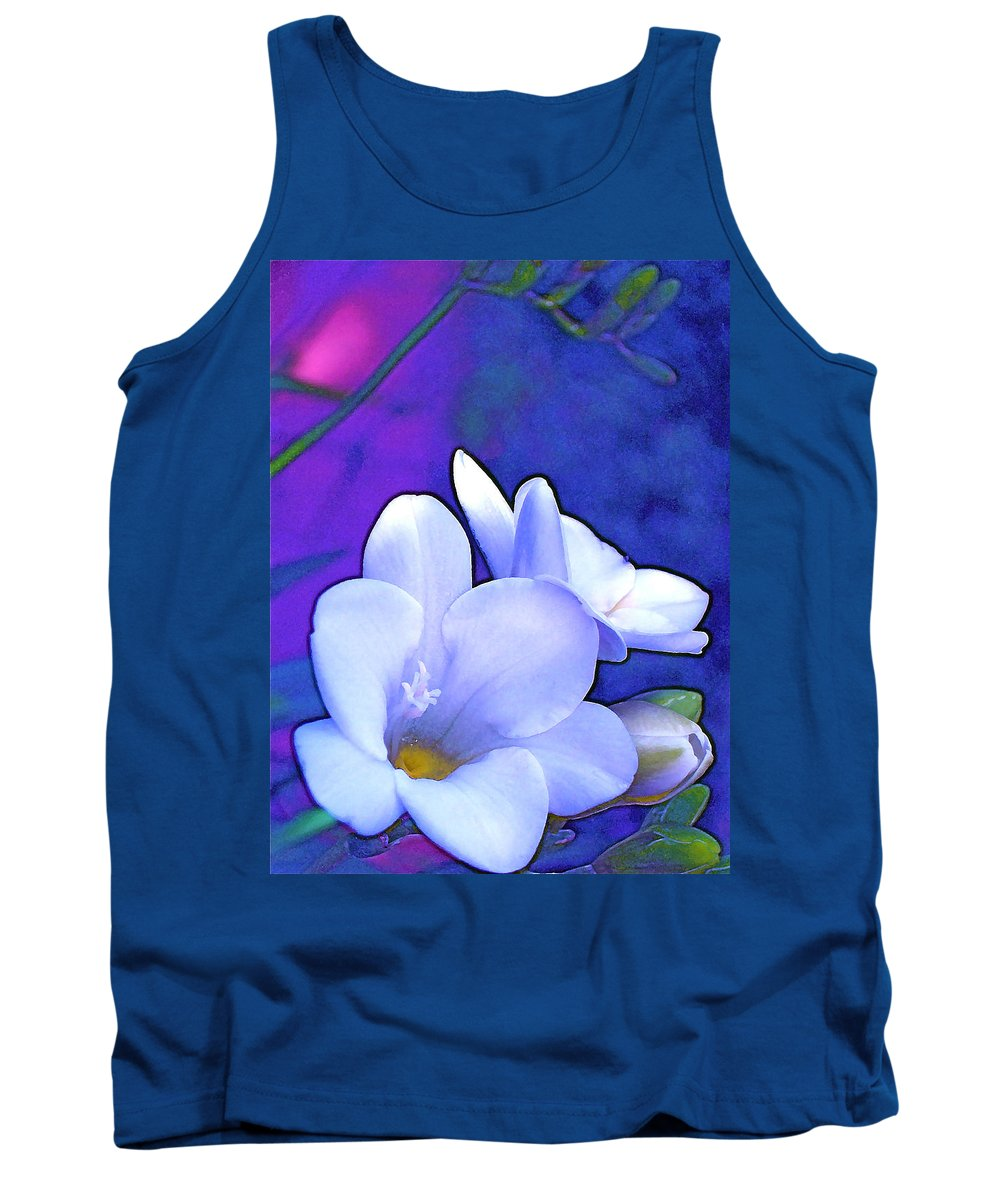 Flowers Tank Top featuring the photograph Color 4 by Pamela Cooper