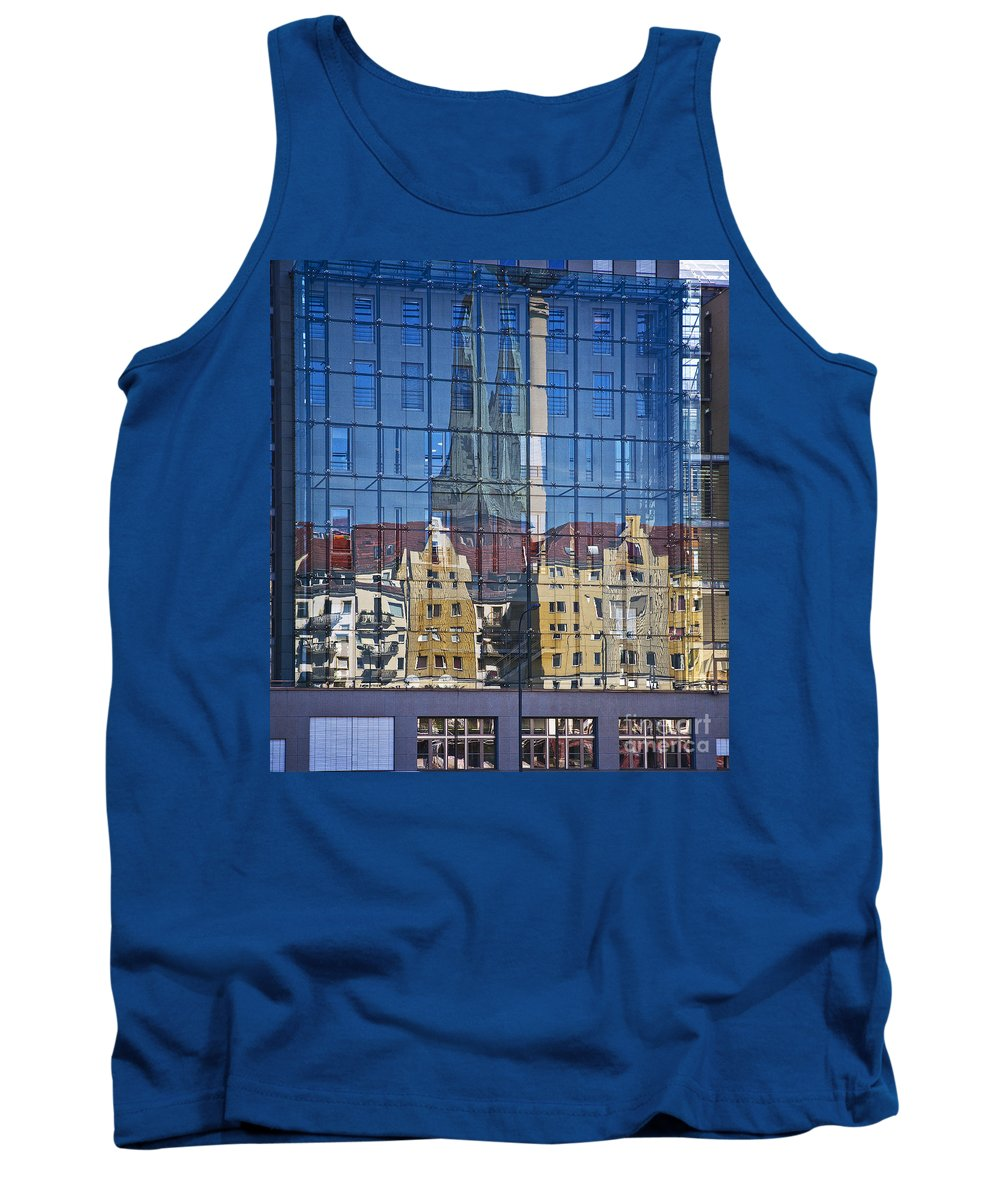 Heiko Tank Top featuring the photograph Mirror On The Wall by Heiko Koehrer-Wagner