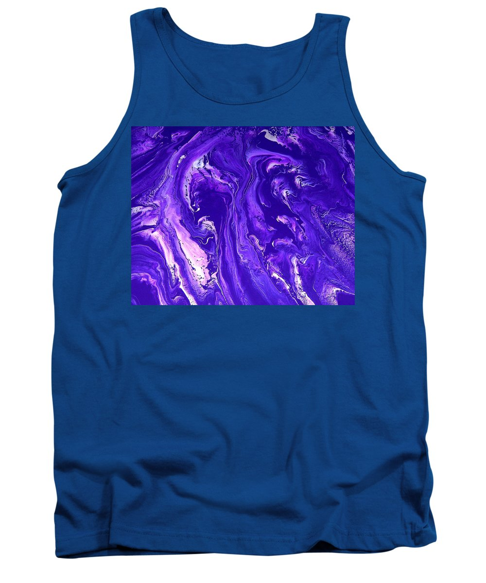 Original Tank Top featuring the painting Abstract 22 by J D Owen