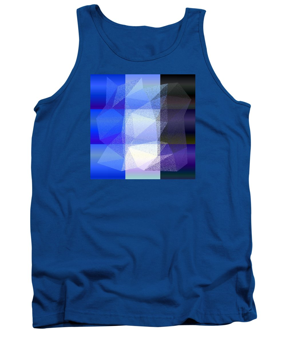 5120 Tank Top featuring the digital art 5120.6.39 by Gareth Lewis