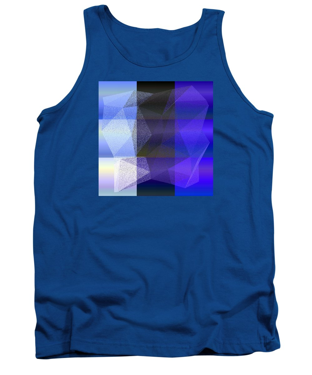 5120 Tank Top featuring the digital art 5120.6.40 by Gareth Lewis