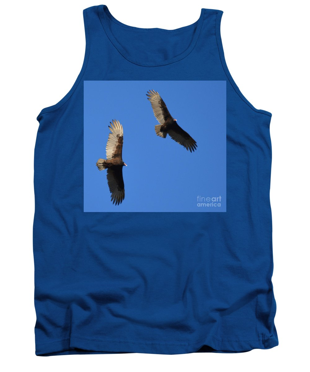 Buzzard Tank Top featuring the photograph A Bird By Any Other Name.... by Barb Dalton