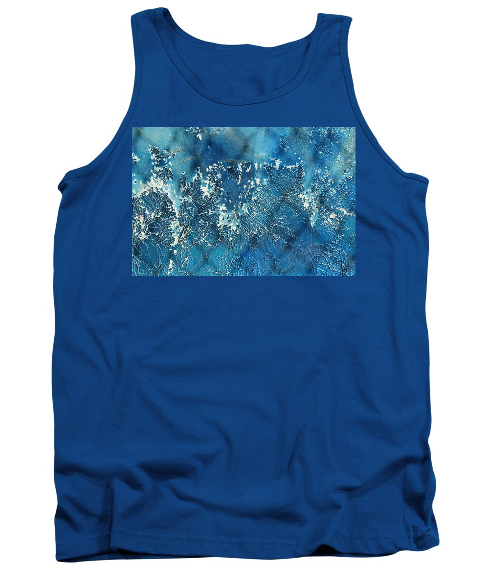 Abstract Tank Top featuring the photograph A Sea Of Patterns by Ric Bascobert