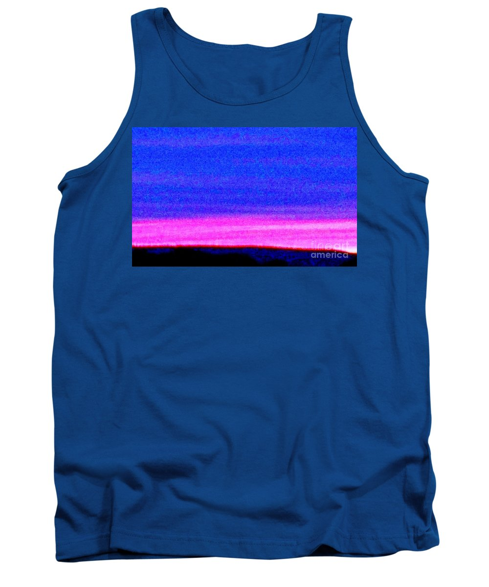 Abstract Tank Top featuring the photograph Abstract Landscape by Eric Schiabor