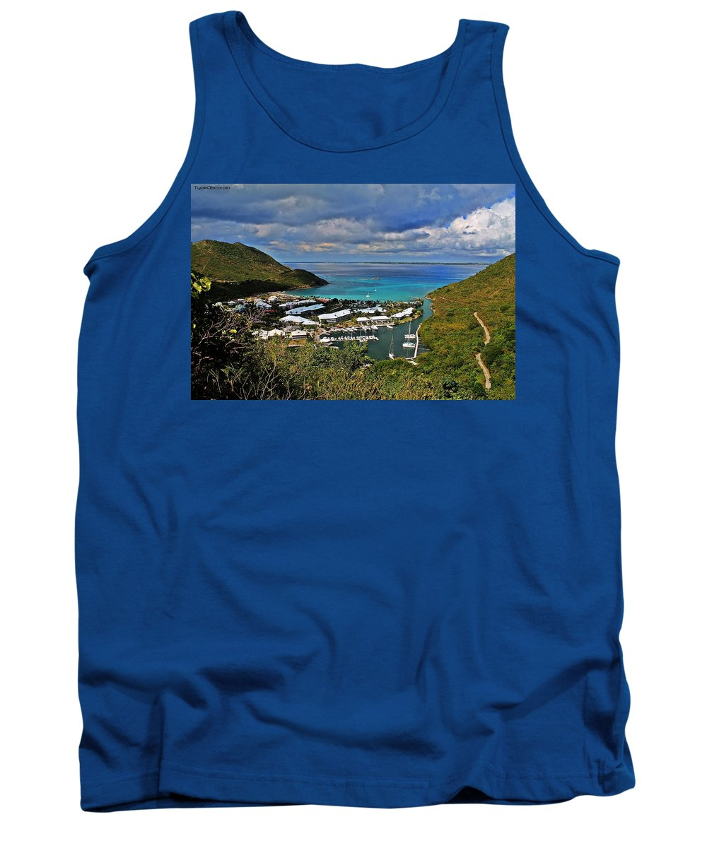 Anse Marcel Tank Top featuring the photograph Anse Marcel by James Markey