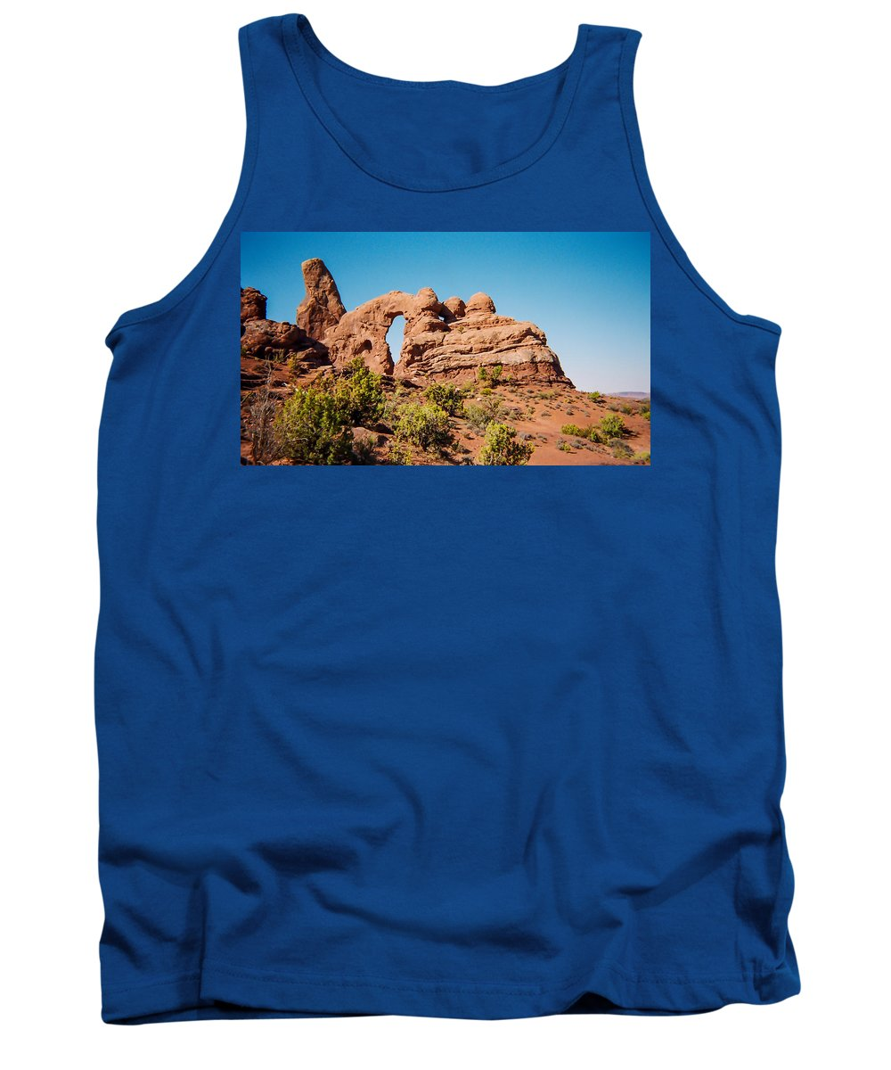 Utah Tank Top featuring the photograph Arches Np by Stacy Abbott
