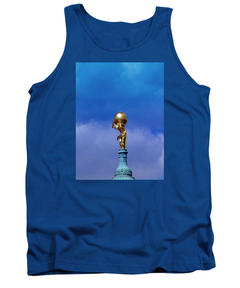 Atlas Tank Top featuring the photograph Atlas by FL collection