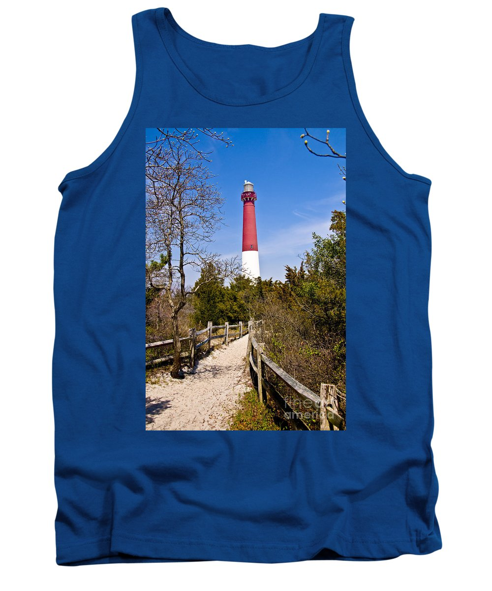 Lighthouses Tank Top featuring the photograph Barnegat Lighthouse II by Anthony Sacco