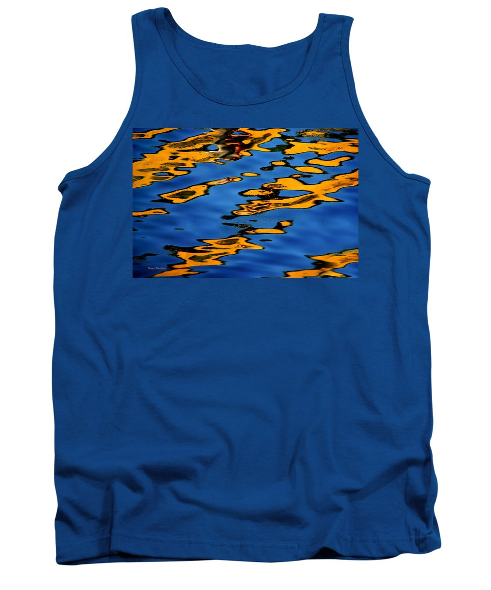Abstract Water Tank Top featuring the photograph Beagles At Play by Donna Blackhall