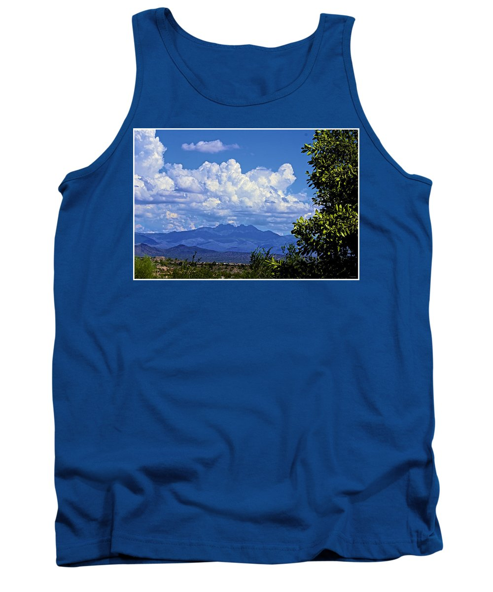 Arizona Tank Top featuring the photograph Beautiful Day by Barbara Zahno
