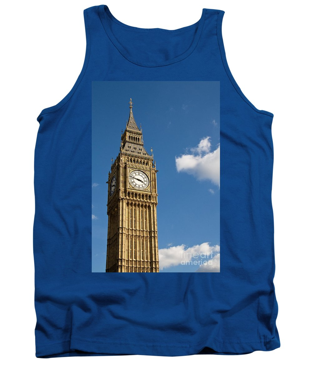 St Stephens Tower Tank Top featuring the photograph Big Ben by Rick Piper Photography