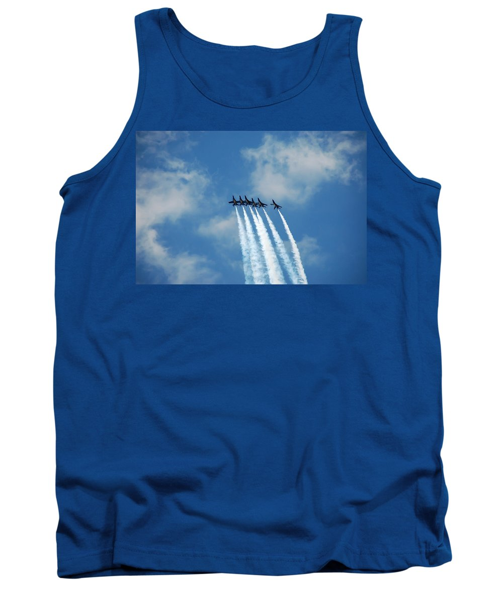 Dare Tank Top featuring the photograph Blue Angels 3 by Aimee L Maher ALM GALLERY