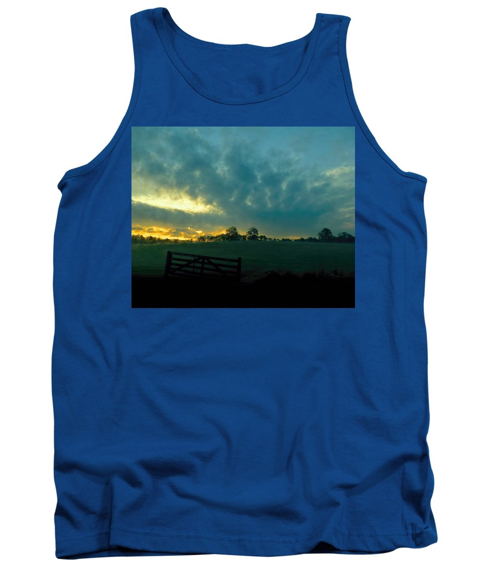 Dawn Tank Top featuring the photograph Breaking Dawn by Jennifer Wheatley Wolf