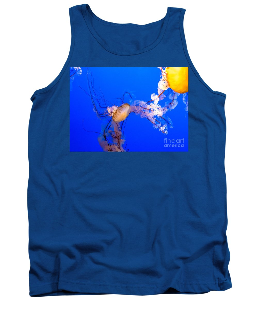 Deep Tank Top featuring the photograph Brilliant Beauties by Cheryl Baxter