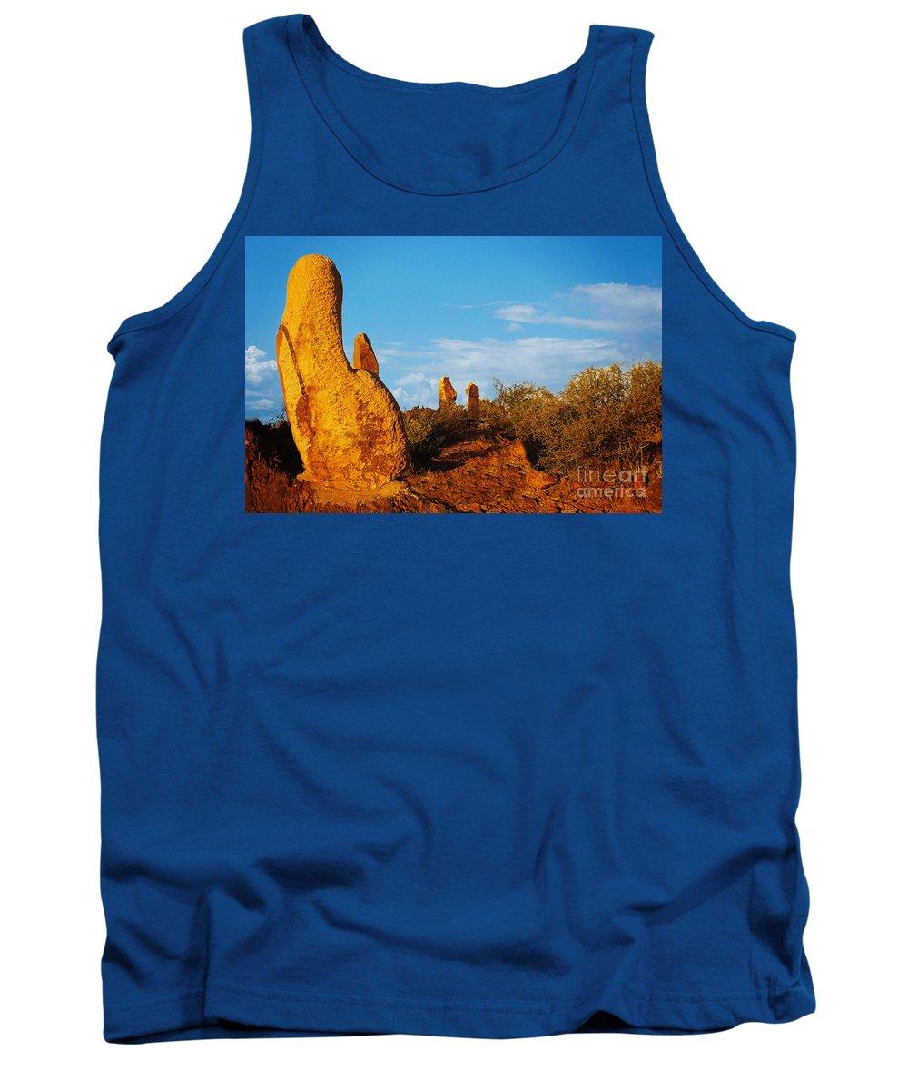 Australia Tank Top featuring the photograph Broken Hill 2 by Ben Yassa