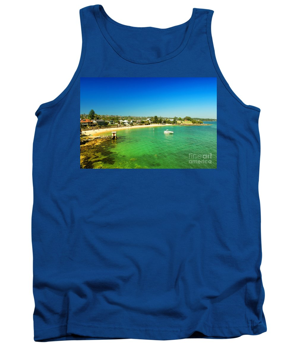 Yewkwang Tank Top featuring the photograph Camp Cove 01 by Yew Kwang